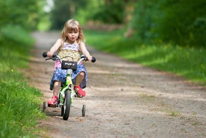 Und ab die Post: Das richtige Fahrrad fürs Kind