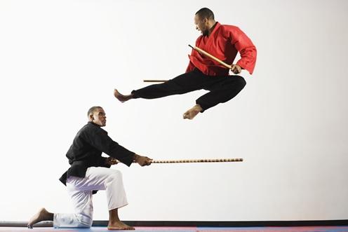 Der Artikel stellt die Kampfkunst Combat Arnis vor.