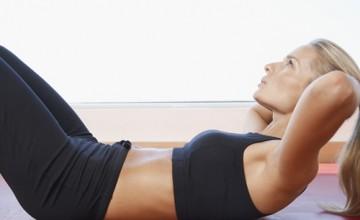 Der Artikel nennt die Vorteile von Sport-BHs.