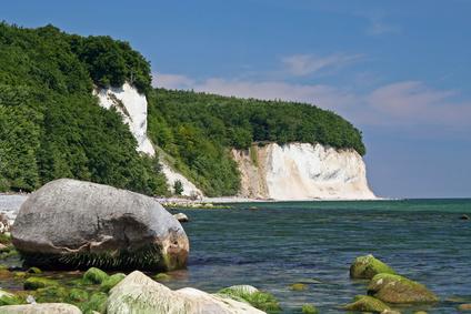 Insel Rügen, Kreideküste bei Sassnitz