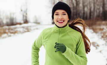 Joggen im Winter: Tipps zum Laufen in der kalten Jahreszeit