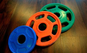 Übungen mit Hantelscheibe: Eine runde Sache!